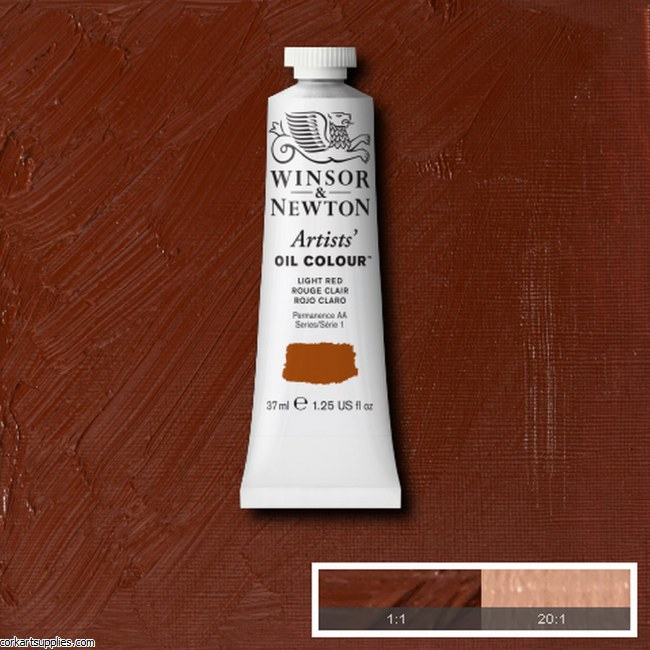 W&N Artists Oil 37ml Light Red