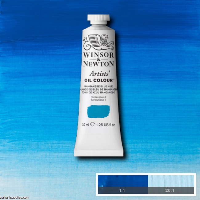 W&N Artists Oil 37ml Manganese Blue