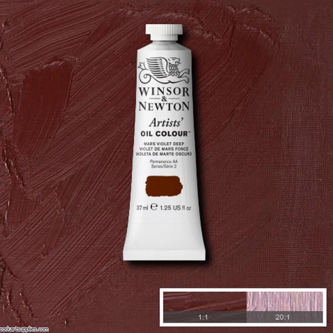 W&N Artists Oil 37ml Mars Violet Deep