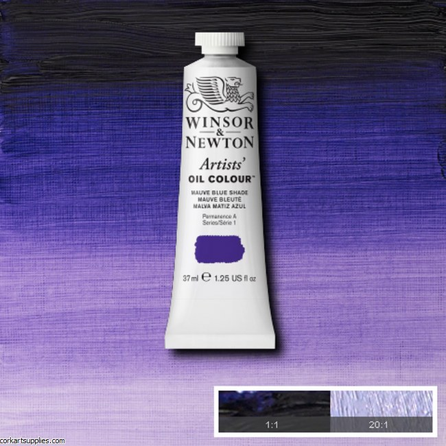W&N Artists Oil 37ml Mauve (Blue Shade)