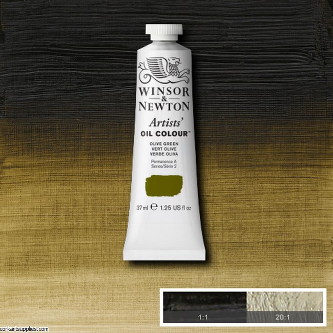 W&N Artists Oil 37ml Olive Green