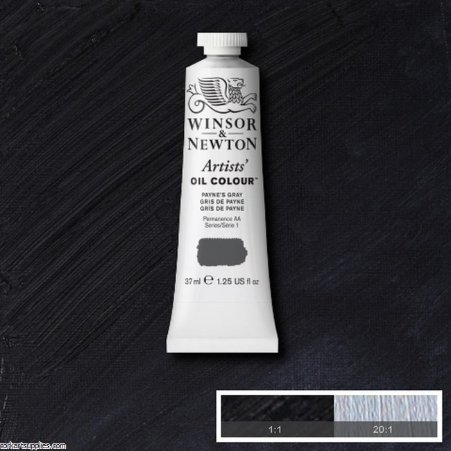 W&N Artists Oil 37ml Payne's Gray