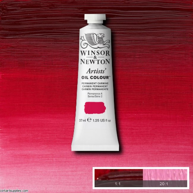 W&N Artists Oil 37ml Permanent Carmine