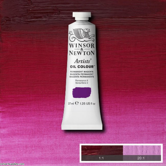 W&N Artists Oil 37ml Permanent Magenta