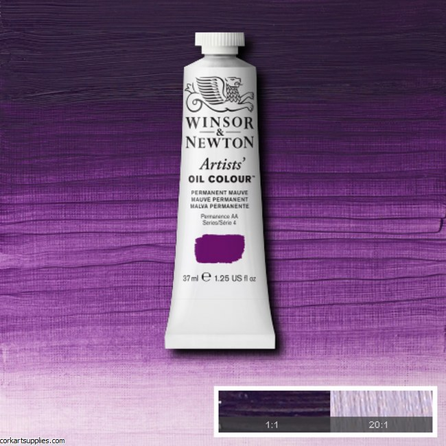 W&N Artists Oil 37ml Permanent Mauve