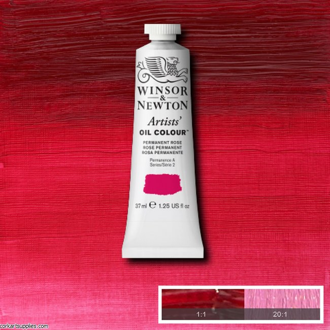 W&N Artists Oil 37ml Permanent Rose