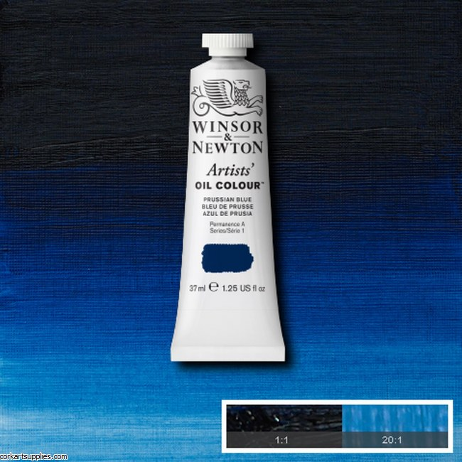 W&N Artists Oil 37ml Prussian Blue