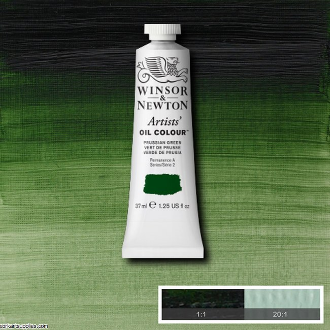 W&N Artists Oil 37ml Prussian Green