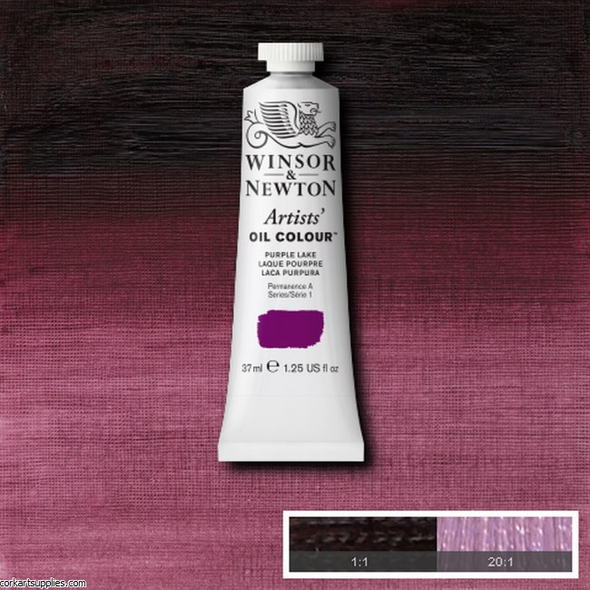 W&N Artists Oil 37ml Purple Lake