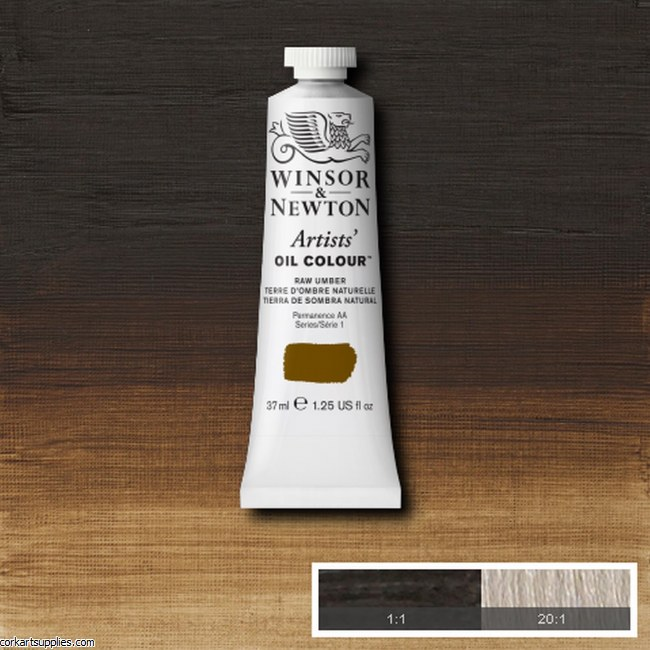 W&N Artists Oil 37ml Raw Umber