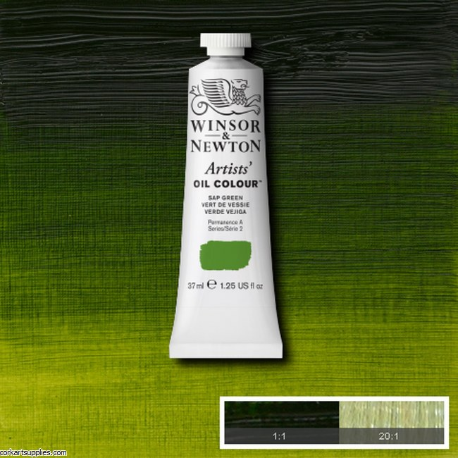 W&N Artists Oil 37ml Sap Green