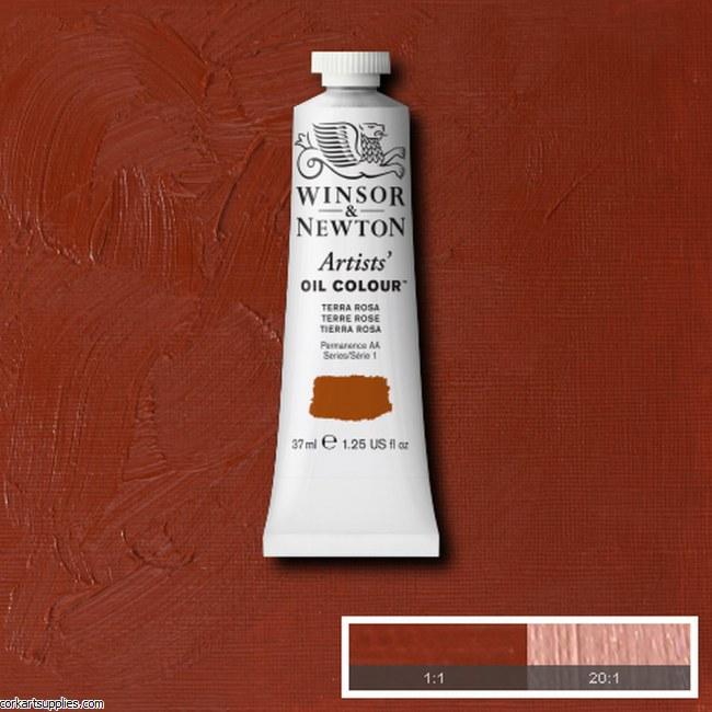 W&N Artists Oil 37ml Terra Rosa