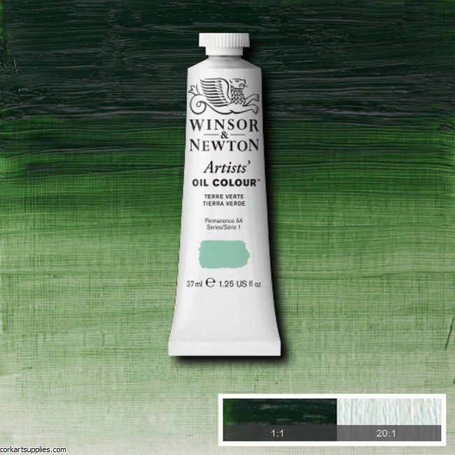 W&N Artists Oil 37ml Terra Verte