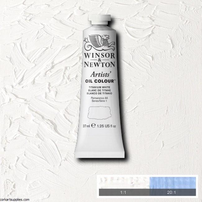 W&N Artists Oil 37ml Titanium White