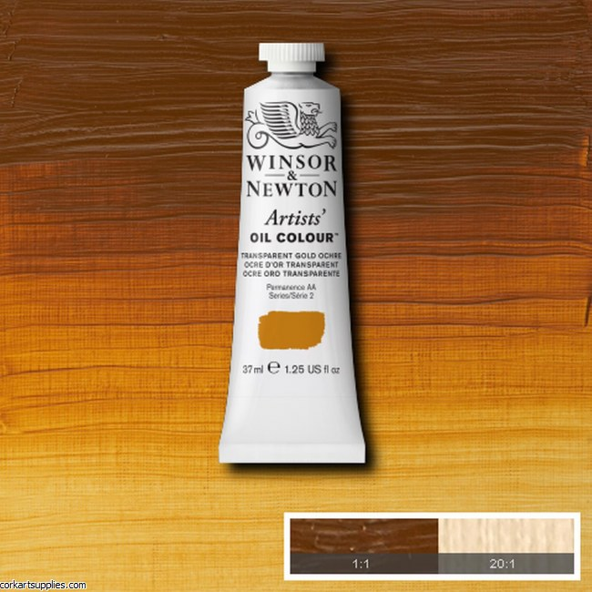 W&N Artists Oil 37ml Transparent Gold Ochre