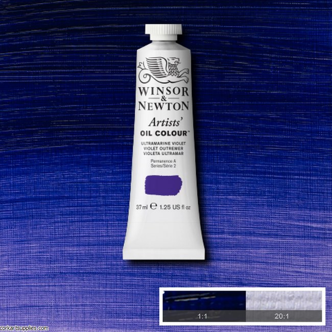 W&N Artists Oil 37ml Ultramarine Violet
