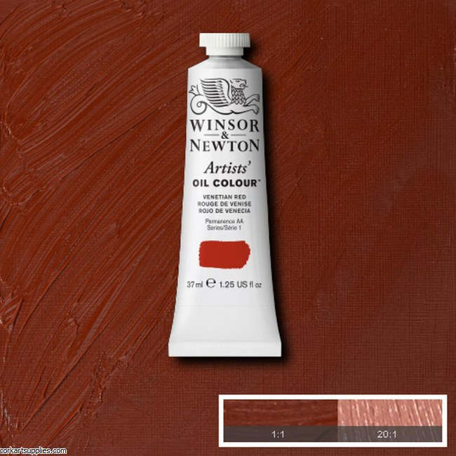 W&N Artists Oil 37ml Venetian Red