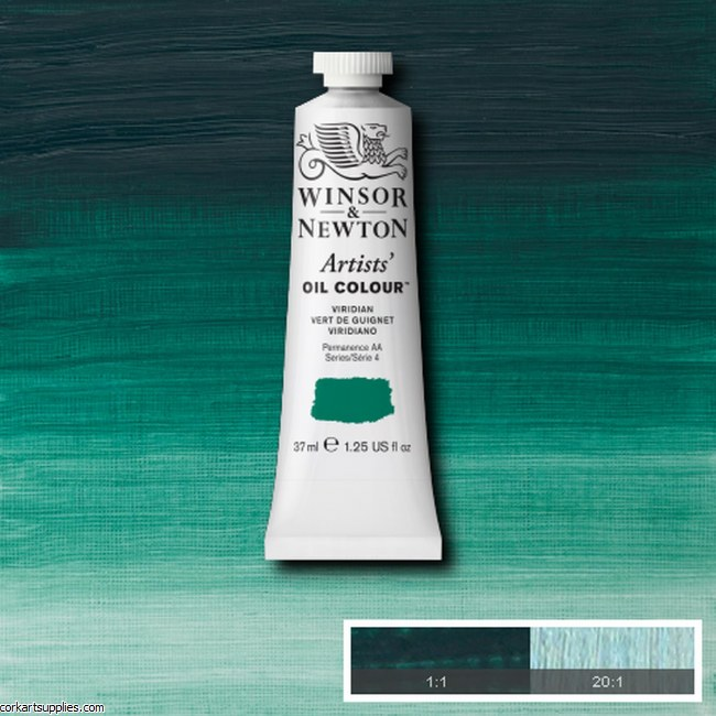 W&N Artists Oil 37ml Viridian