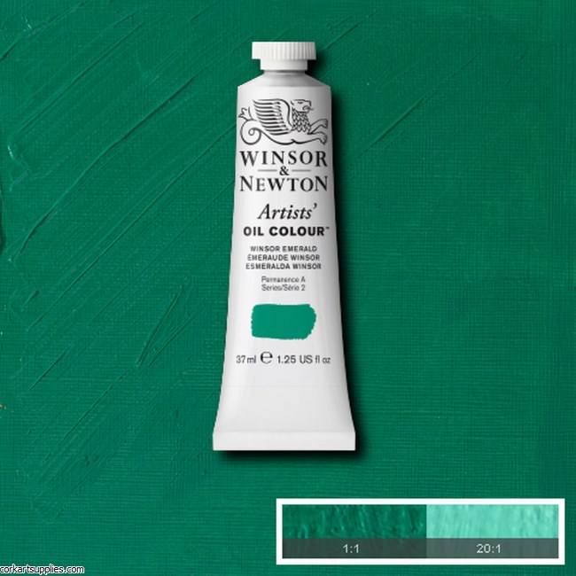 W&N Artists Oil 37ml Winsor Emerald