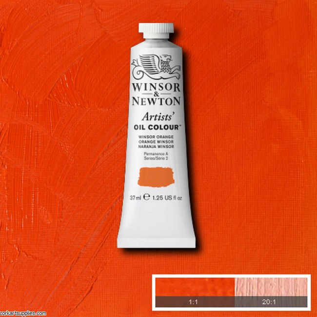 W&N Artists Oil 37ml Winsor Orange