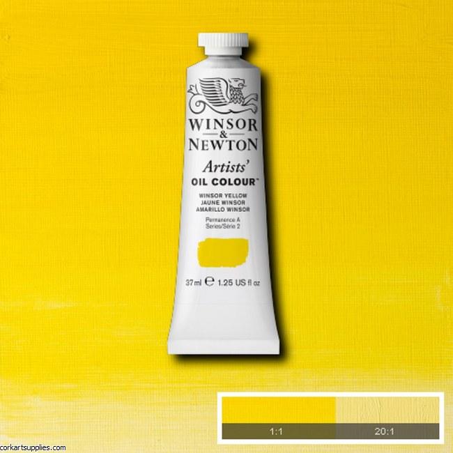 W&N Artists Oil 37ml Winsor Yellow