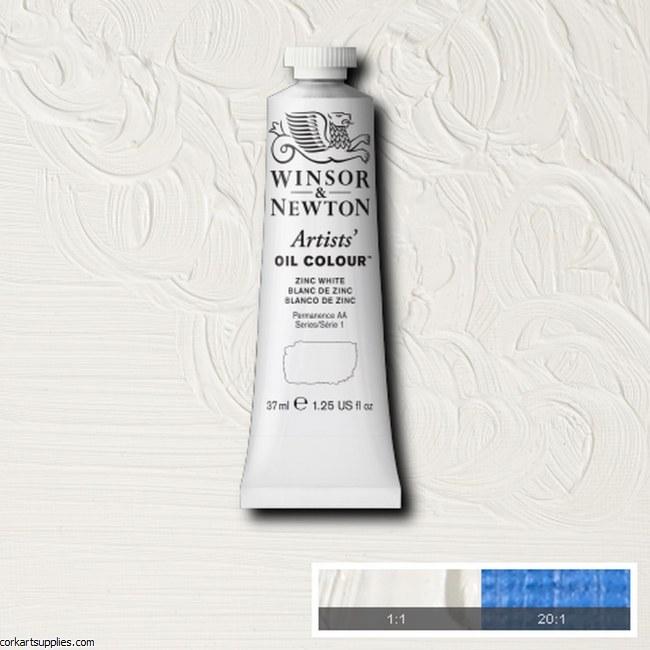 W&N Artists Oil 37ml Zinc White