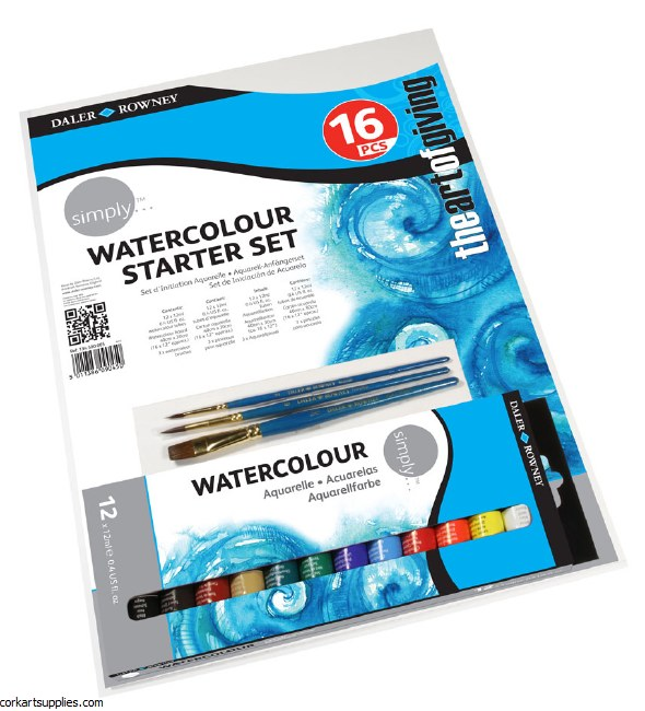 Simply Starter Watercolour Set