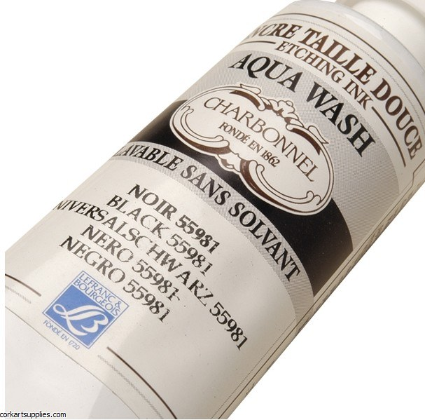 Aqua Wash Ink 150ml Blk 55981