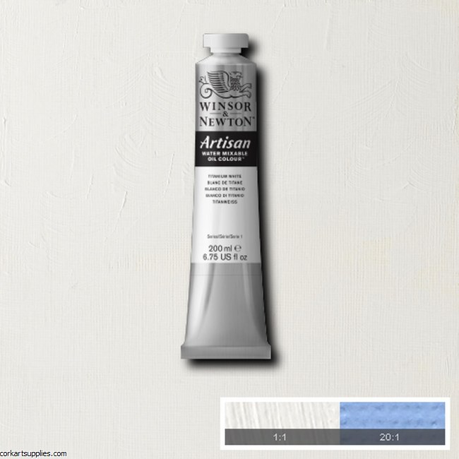 Artisan Oil 200ml Titanium White