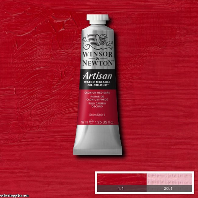 Artisan Oil 37ml Cadmium Red Dark