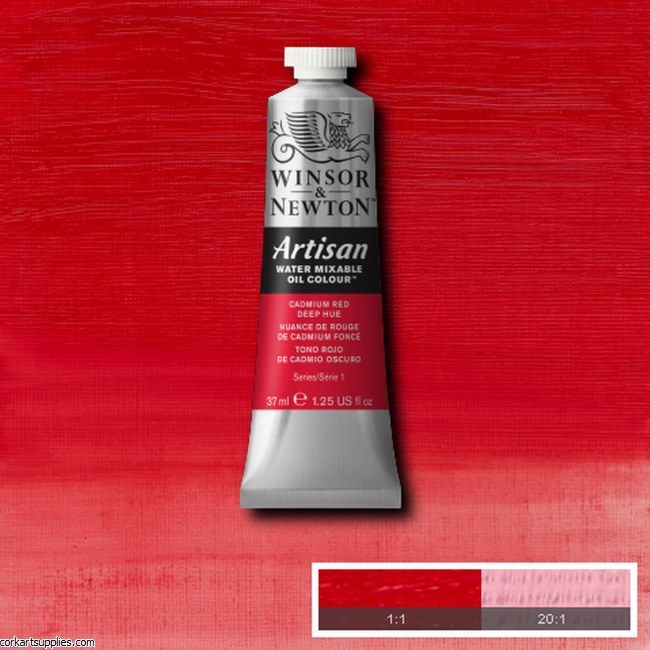 Artisan Oil 37ml Cadmium Red Deep (Hue)