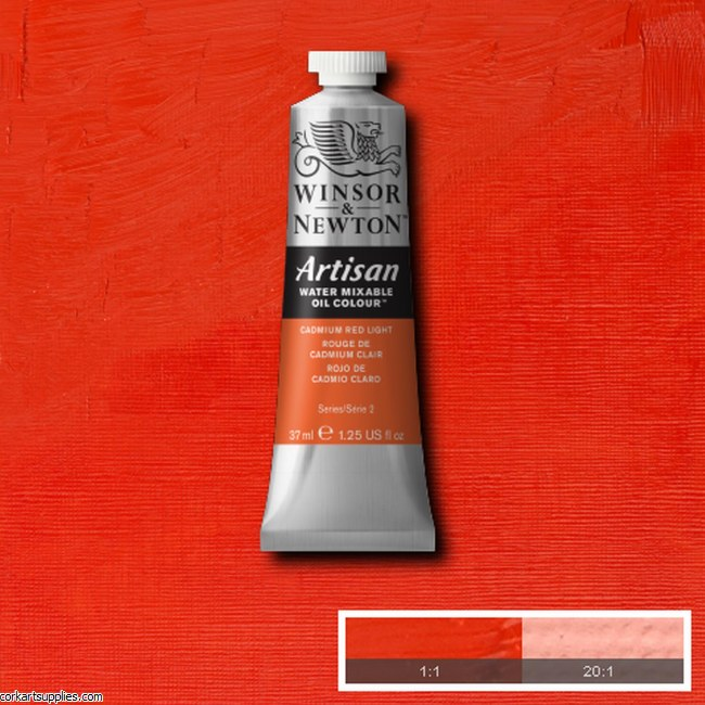 Artisan Oil 37ml Cadmium Red Light