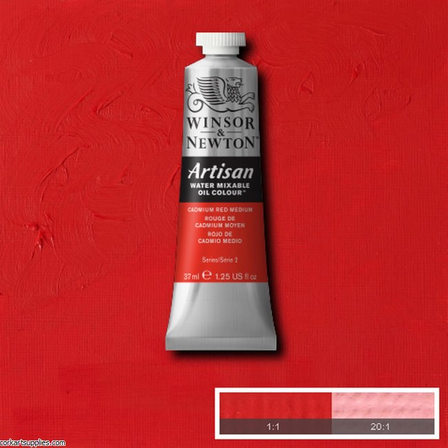 Artisan Oil 37ml Cadmium Red Medium