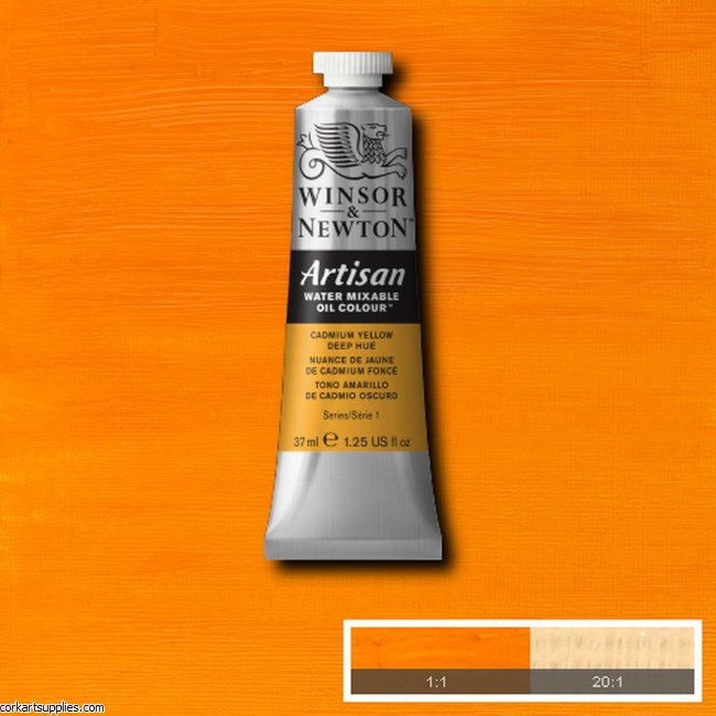Artisan Oil 37ml Cadmium Yellow Deep (Hue)