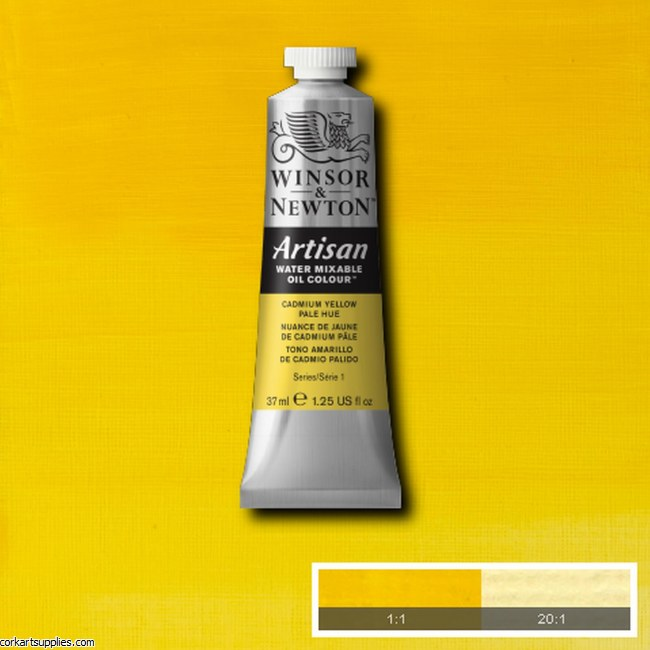 Artisan Oil 37ml Cadmium Yellow Pale (Hue)