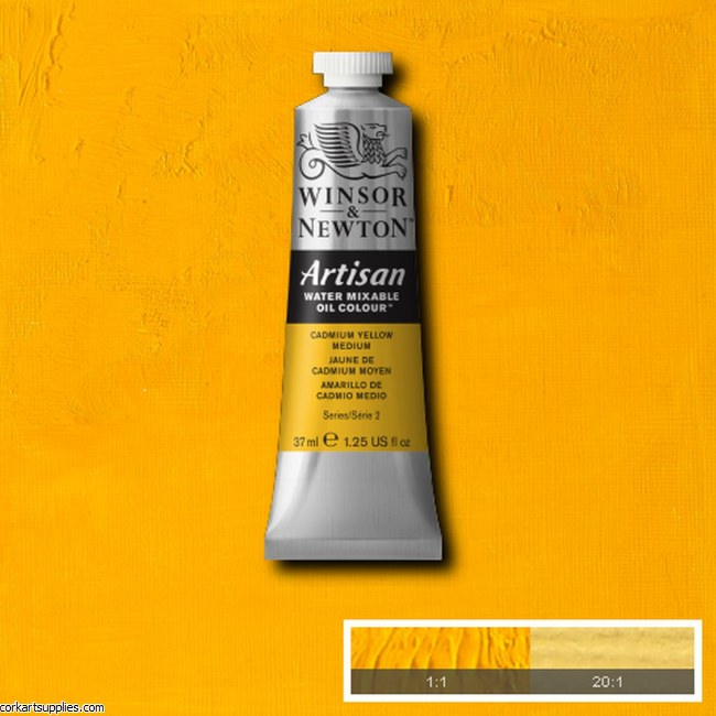 Artisan Oil 37ml Cadmium Yellow Medium
