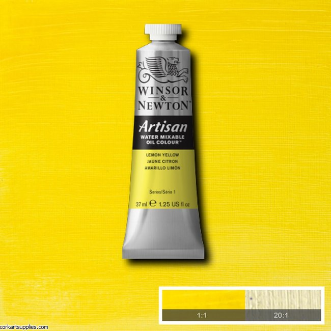 Artisan Oil 37ml Lemon Yellow