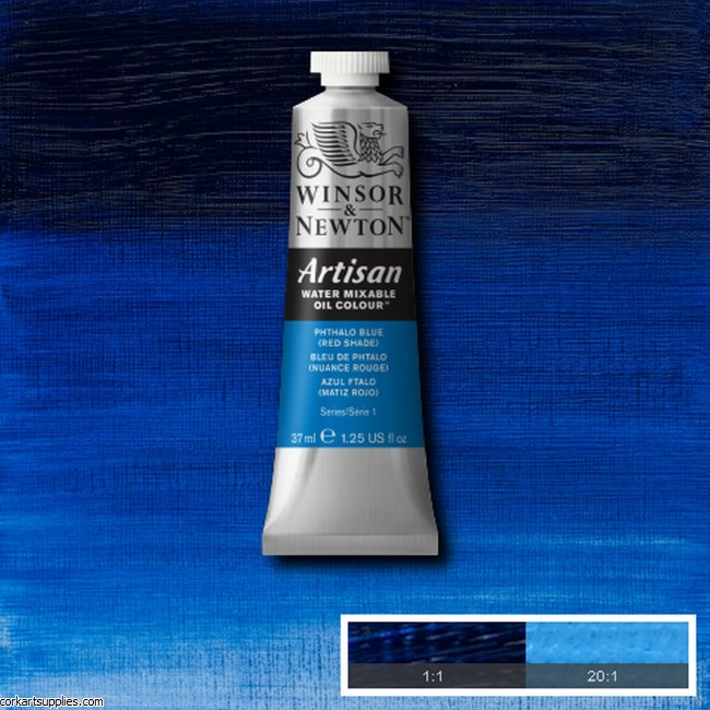 Artisan Oil 37ml Phthalo Blue (Red Shade)