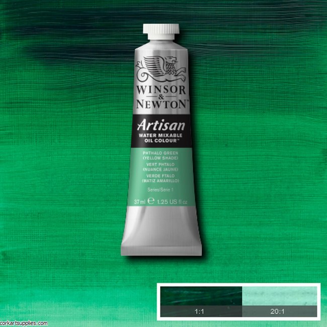 Artisan Oil 37ml Phthalo Green (Yellow Shade)