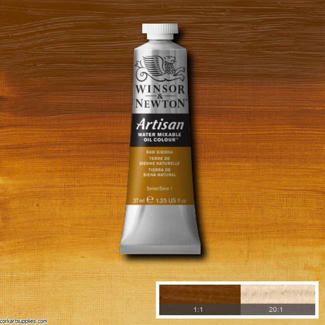 Artisan Oil Colour 37ml Raw Sienna