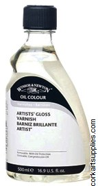 Winsor & Newton 500ml Artists Retouching Varnish