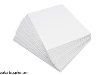 Chartboard White 20x25