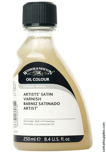 W&N 250ml Oil Satin Varnish