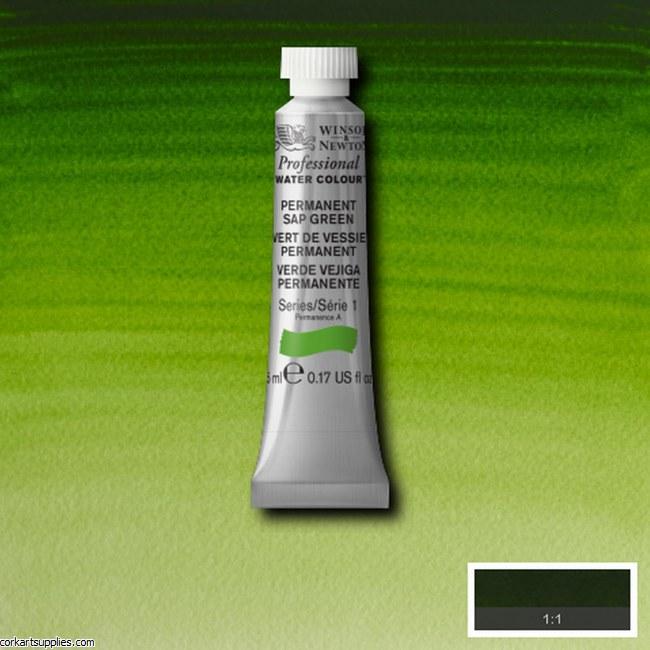 Artists Watercolour 14ml Permanent Sap Green Series 1