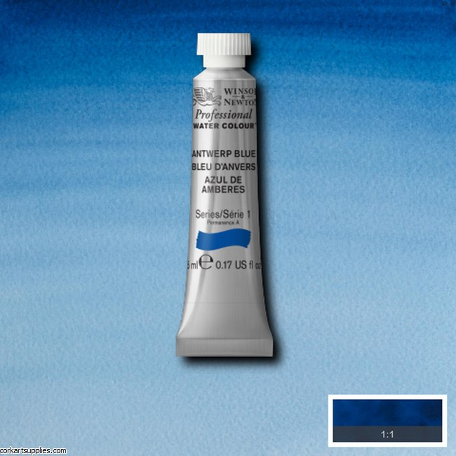 Artists Watercolour 5ml Antwerp Blue