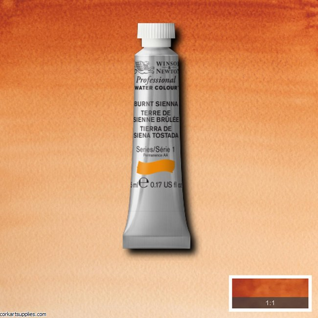Artists Watercolour 5ml Burnt Sienna