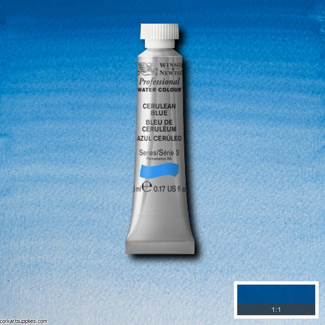 Artists Watercolour 5ml Cerulean Blue