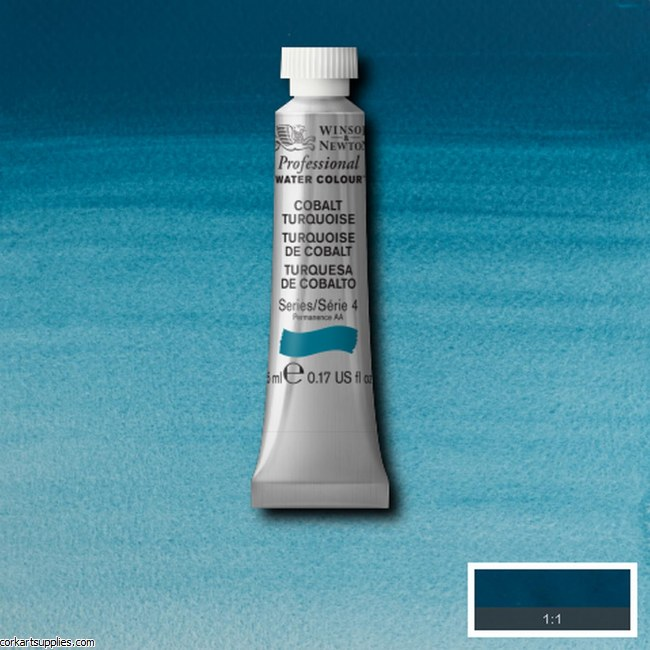 Artists Watercolour 5ml Cobalt Turquoise