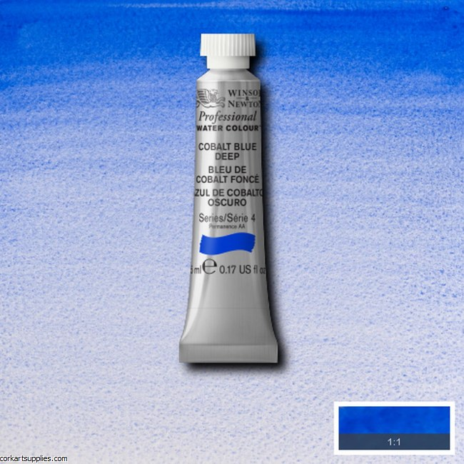 Artists Watercolour 5ml Cobalt Blue Deep