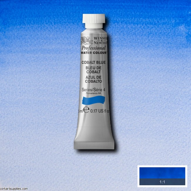 Artists Watercolour 5ml Cobalt Blue